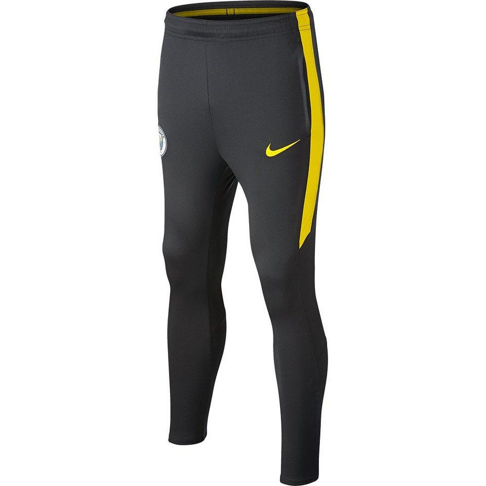 Nike Manchester City »Trainingshose« in schwarz