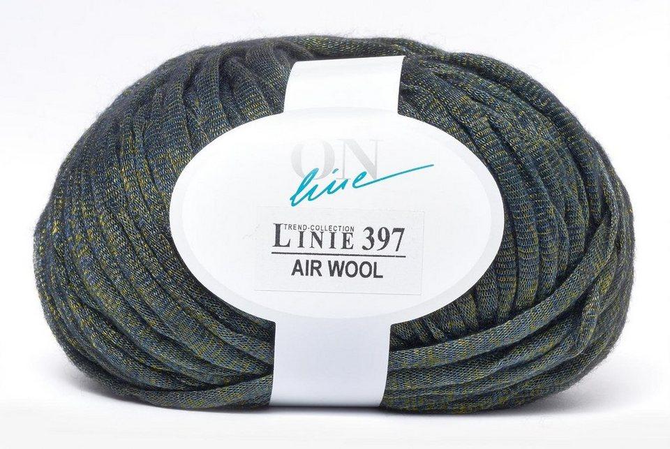 ONline Air Wool Linie 397 in Smaragd