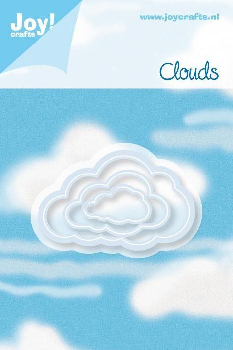 """Stanz- & Prägeschablone """"Wolken"""""""