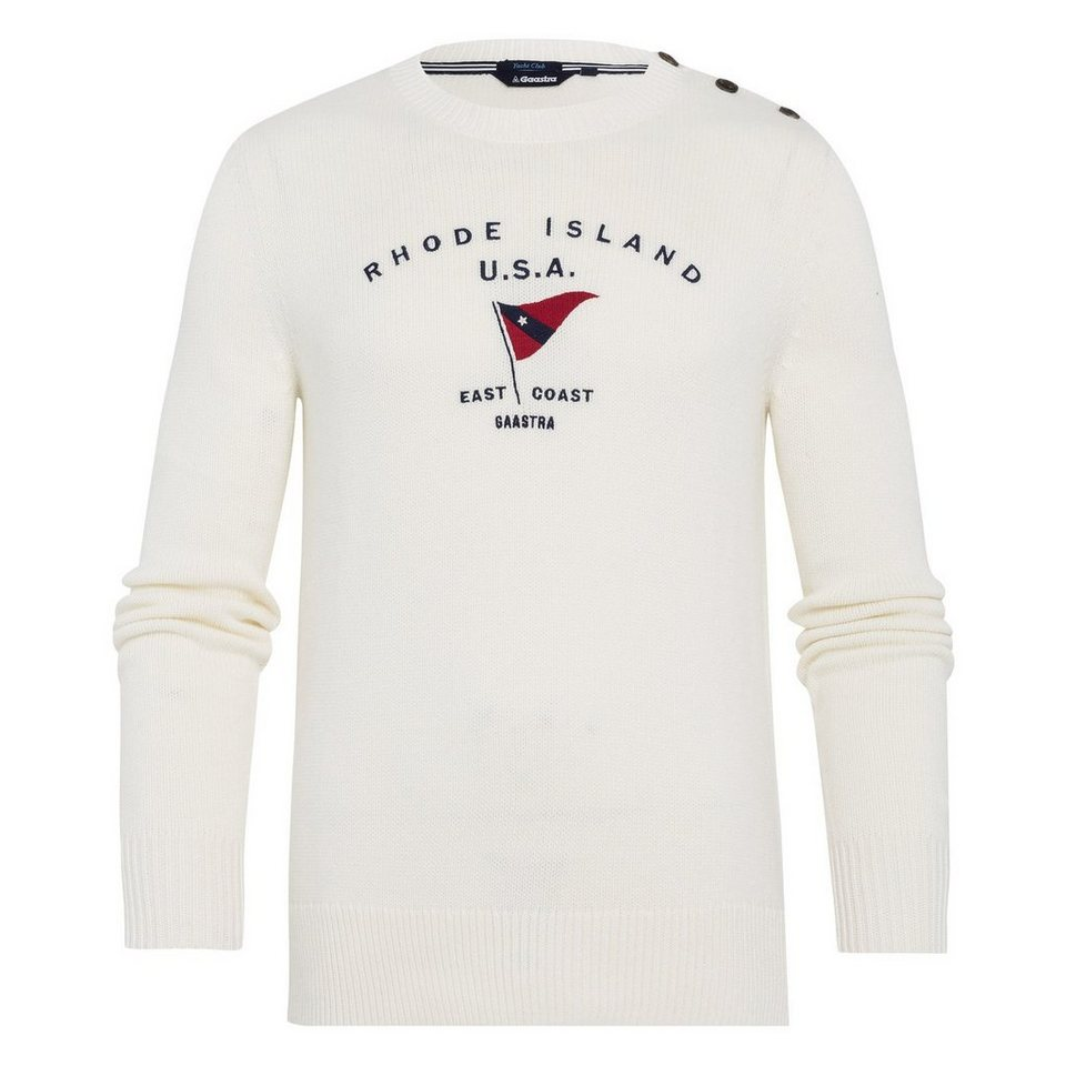 Gaastra Pullover in weiß