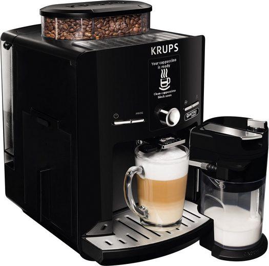 Krups Kaffeevollautomat EA82F8 Latt'Espress Quattro Force, mit Thermoblock