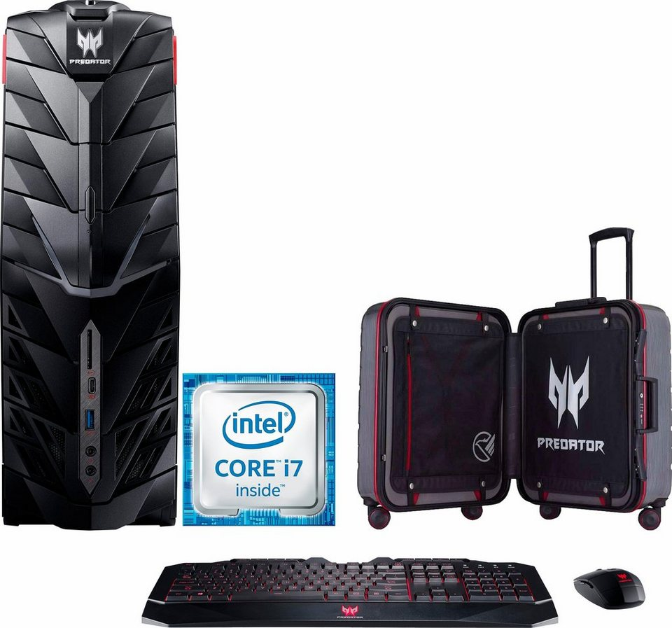 Acer Predator G1 PC Gaming-PC, Intel® Core™ i7, 16384 MB DDR4, 2128 GB Speicher
