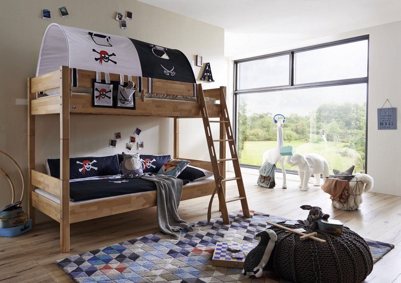 Relita Etagenbett Sky : Blau buche massiv etagenbetten online kaufen möbel suchmaschine