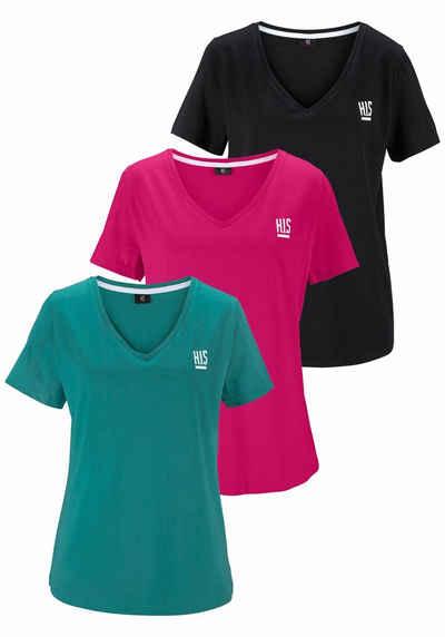 H.I.S T-Shirt (Spar-Set, 3er-Pack) Große Größen 99d41d57bc