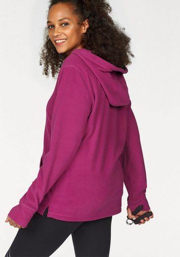 Kangaroos Fleece Pullover, Wide Adjustable Hood