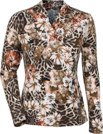 Lady Shirt With Floral Print