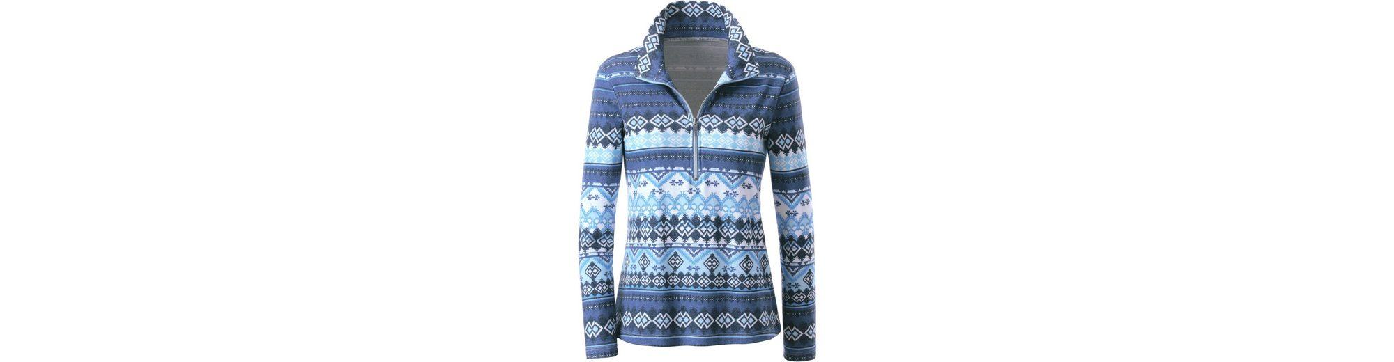 Collection L. Shirt im klassischen Norwegermuster-Druck Rabatt Limitierte Auflage Steckdose Online Auslass Großhandelspreis XL4j1E