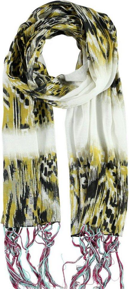 Passigatti Schal in Maisgelb