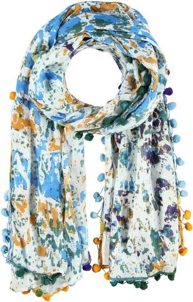 Passigatti Schal in Blau