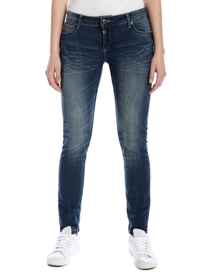 "TIMEZONE Jeans »AleenaTZ ""3819 middle blue wash""« in middle blue wash"