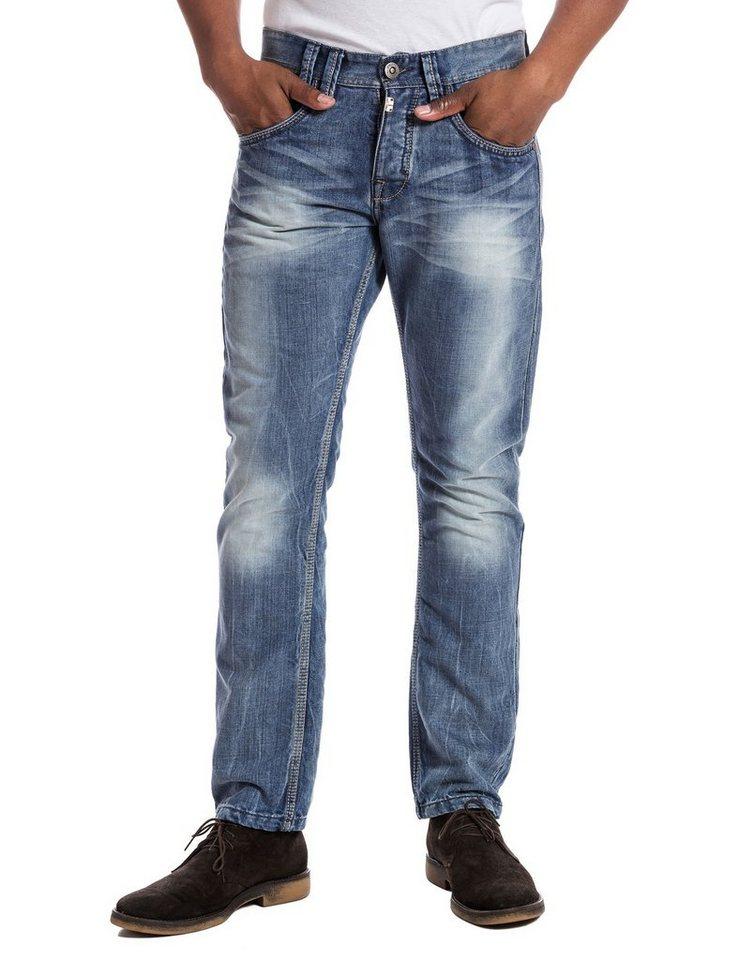 "TIMEZONE Jeans »GerritTZ ""3828 light blue wash""« in light blue wash"