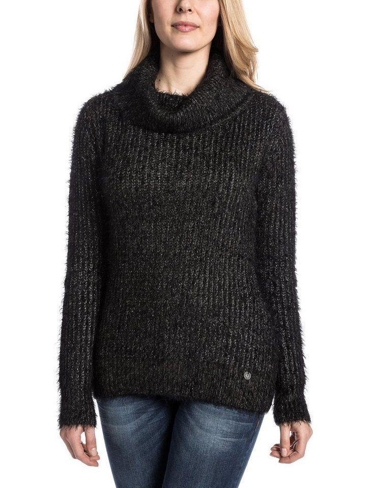 TIMEZONE Pullover »PaulineTZ« in fluffy black
