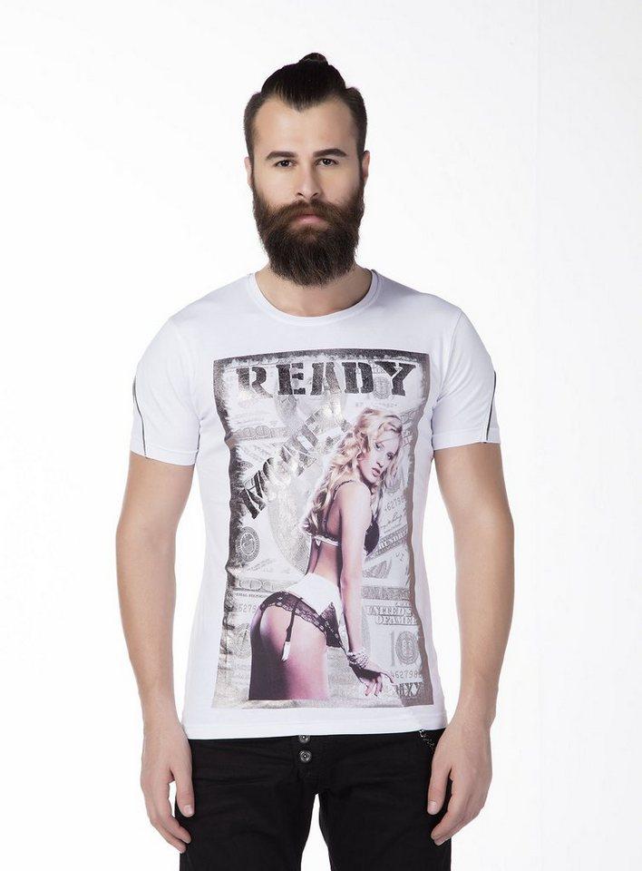 Cipo & Baxx T-Shirt in Weiß