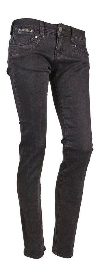 herrlicher jeans piper slim denim black stretch otto. Black Bedroom Furniture Sets. Home Design Ideas