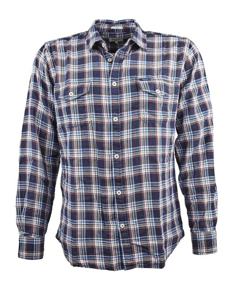 Pepe Jeans Hemd »ARES« in blau