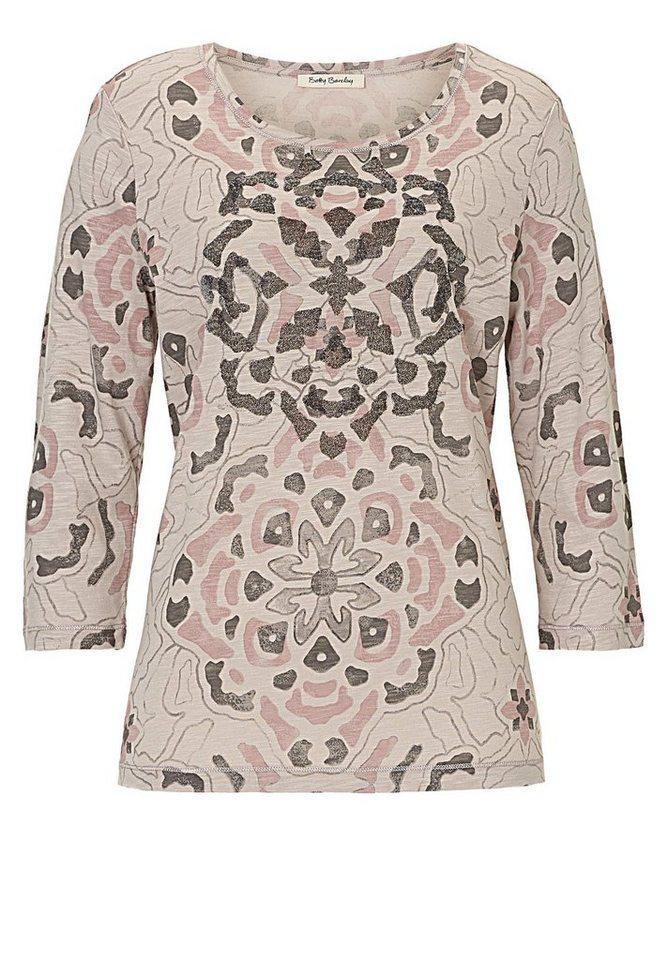 Betty Barclay Shirt in Beige-Rosé - Bunt