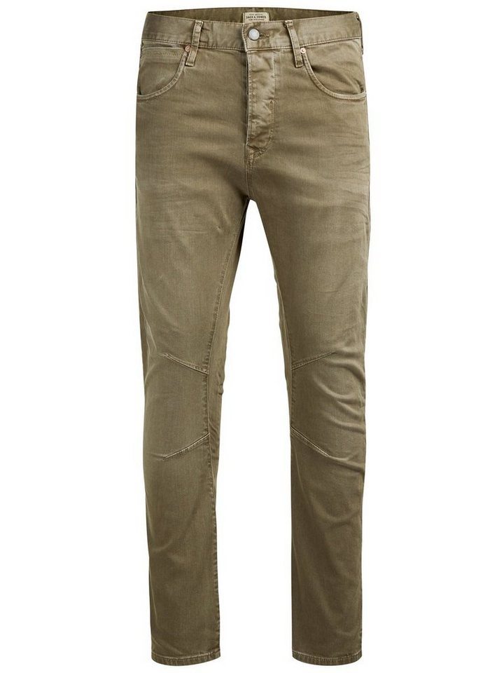 Jack & Jones Luke JOS 999 Anti Fit Jeans in Olive Night