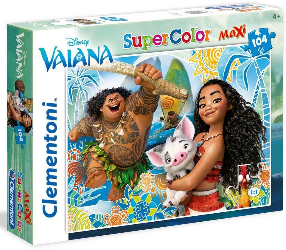Clementoni Maxi Puzzle, 104 Teile, »Disney Vaiana«