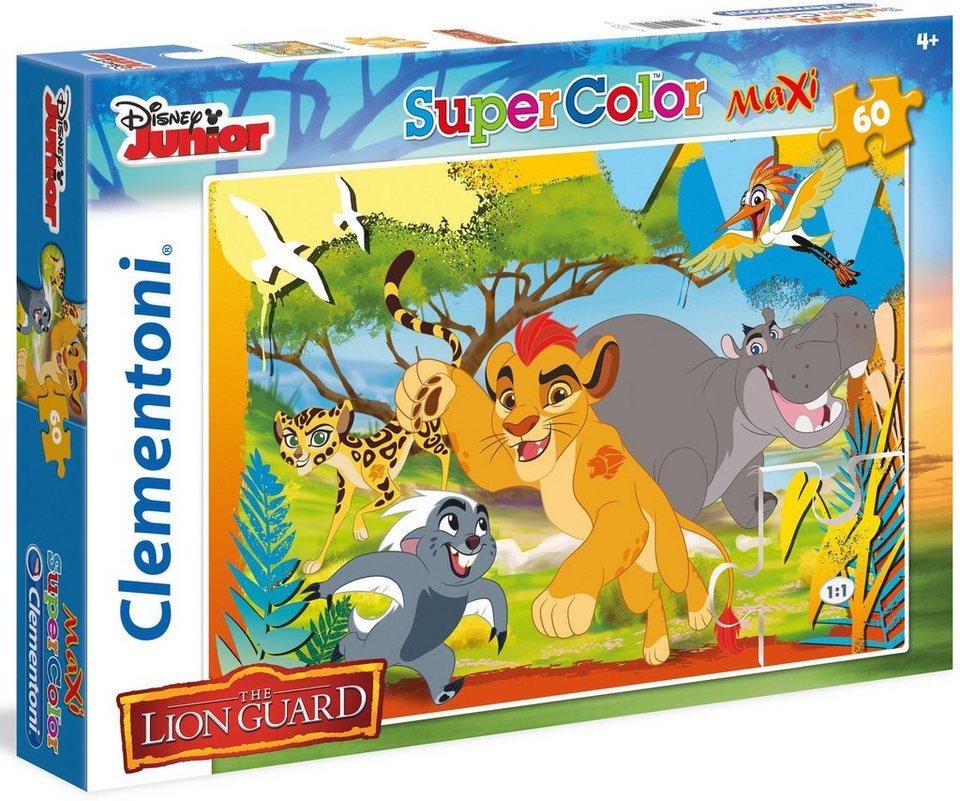 Clementoni Maxi Puzzle, 60 Teile, »Disney Junior The Lion Guard Always«