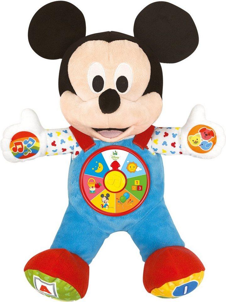 Clementoni Interaktives Kuscheltier Maus, »Disney baby, Baby Mickey Mein bester Freund«