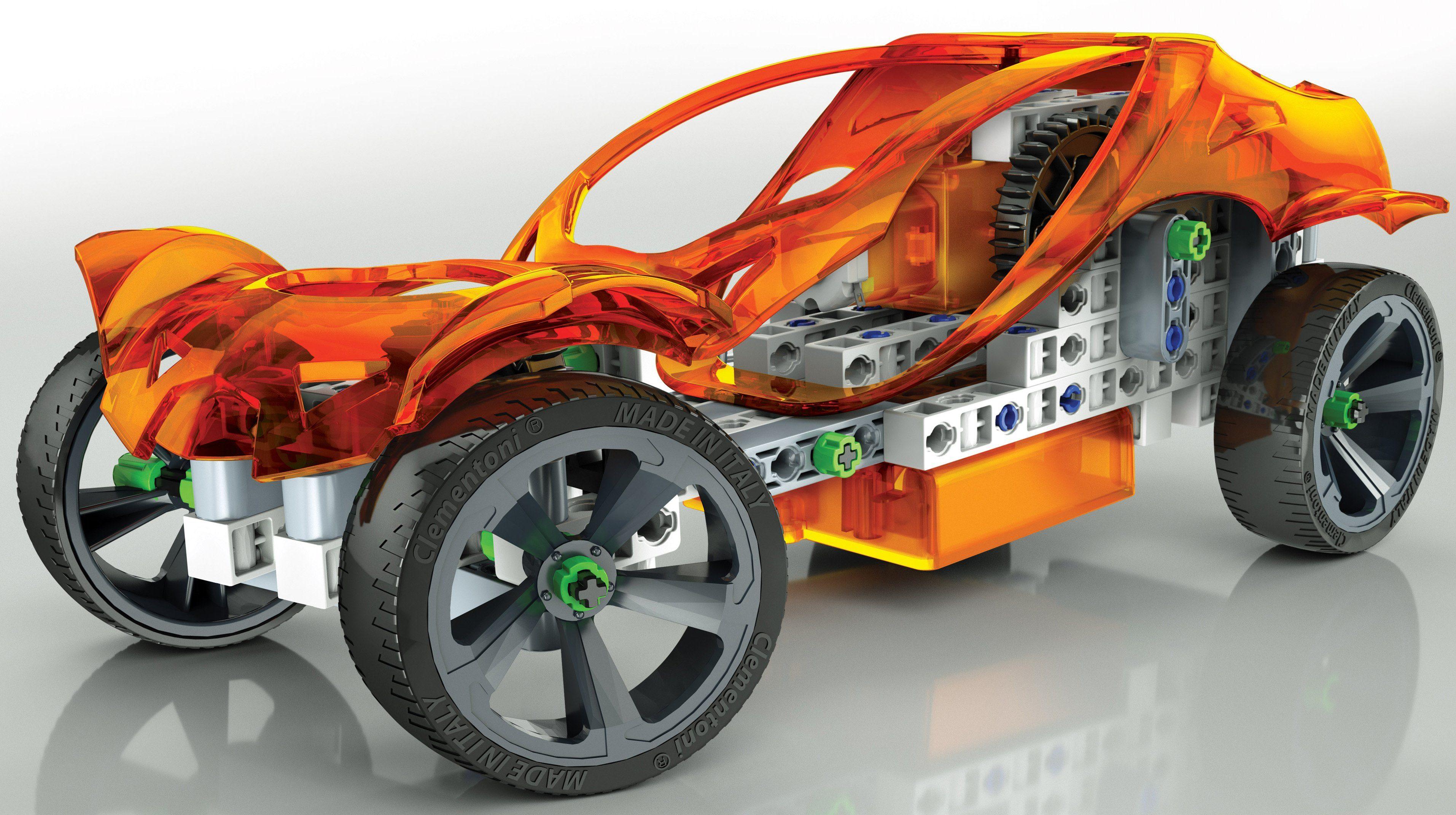 Clementoni Bauset mit Elektromotor, »Construction Challenge«