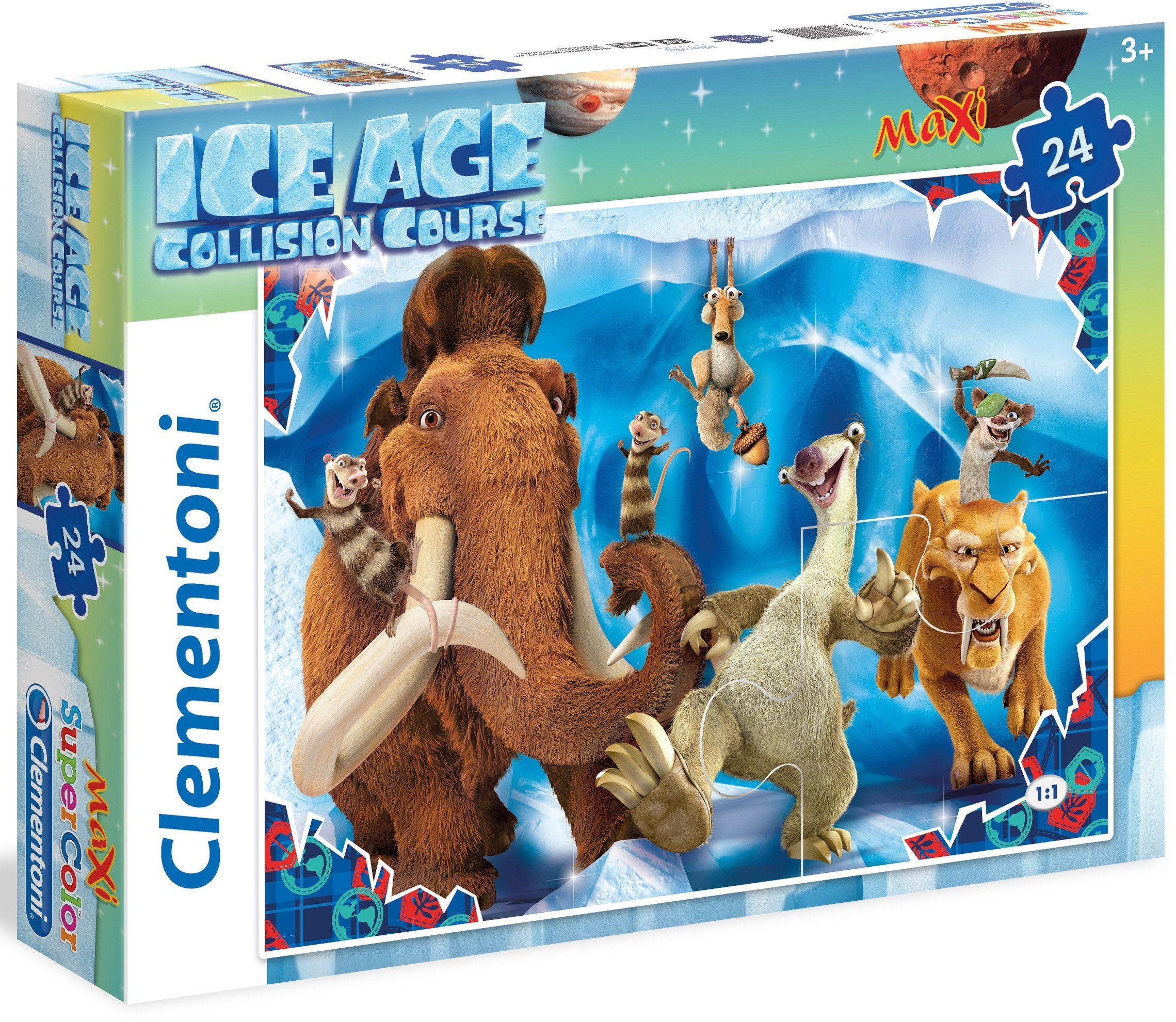 Clementoni Maxi Puzzle, 24 Teile, »Ice Age Collision Course«