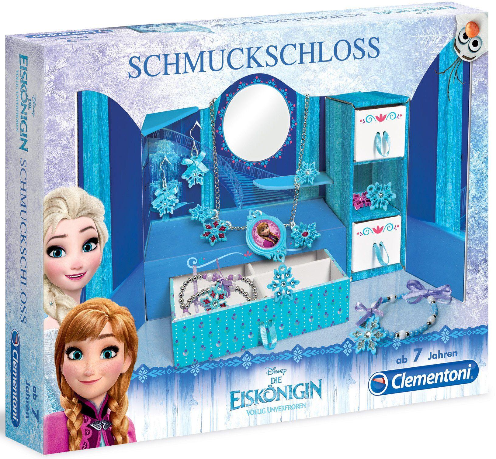 Clementoni Kreativset, »Disney Die Eiskönigin Völlig unverfroren Schmuckschloss«