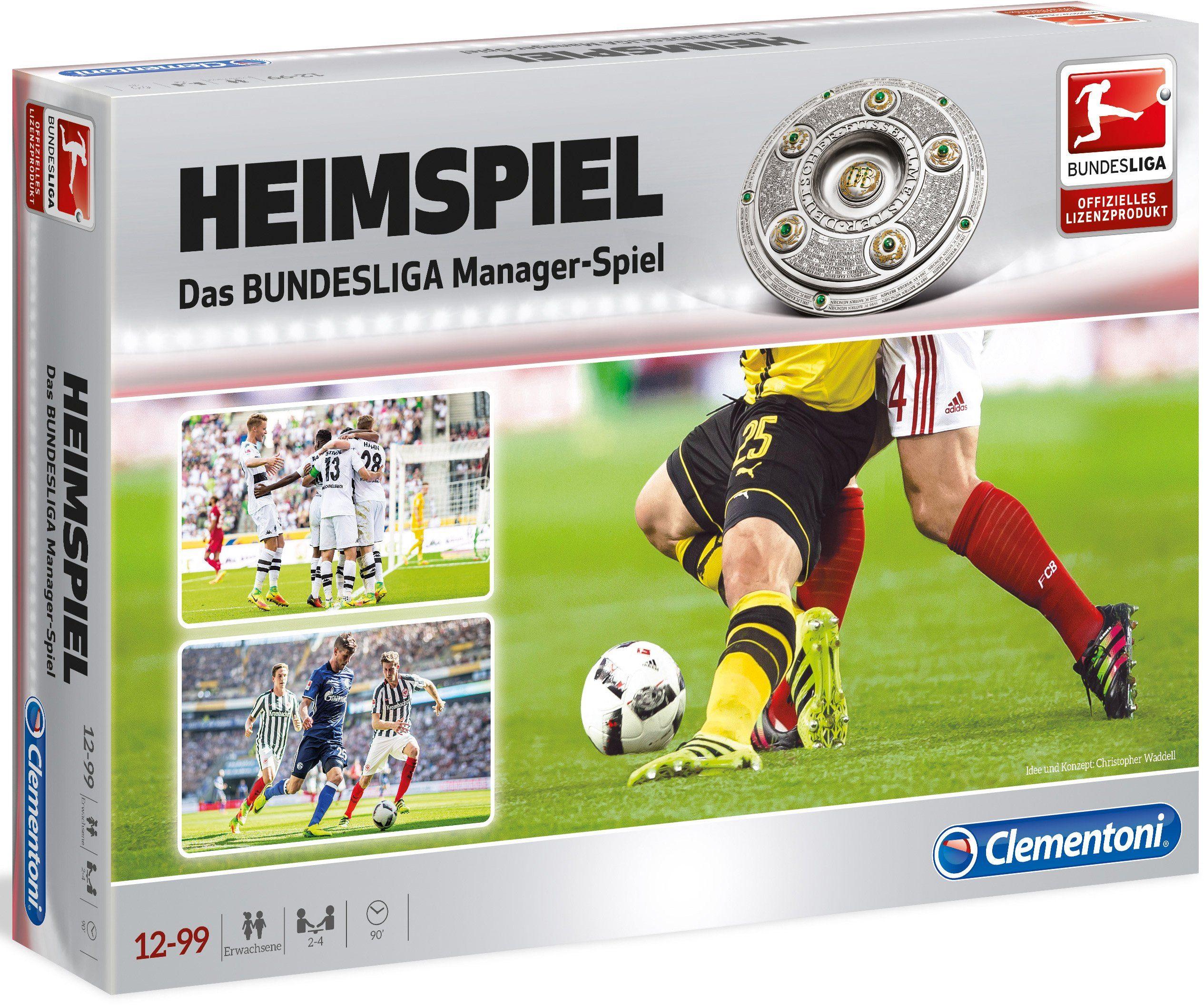 Clementoni Strategiespiel, »HEIMSPIEL Das große Bundesliga Managerspiel«