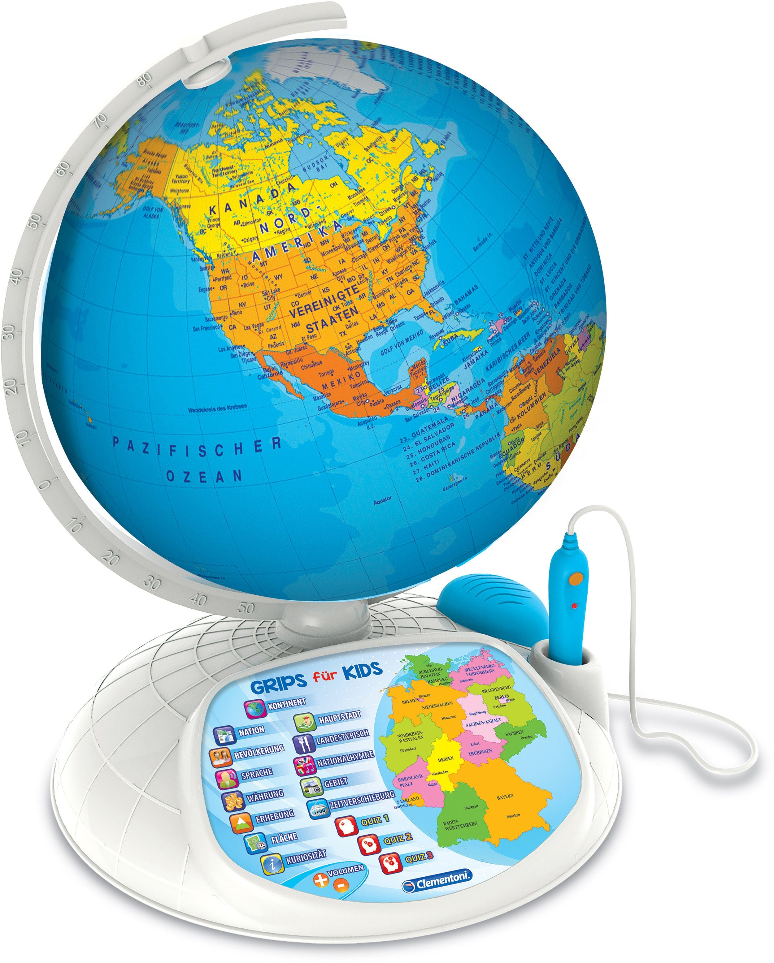 Clementoni Lernspiel, »Interaktiver Globus mit App«
