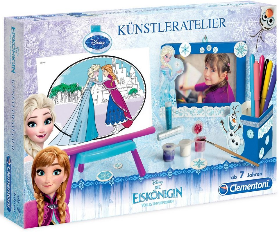 Clementoni Kreativset, »Disney Die Eiskönigin Völlig unverfroren Künstleratelier«