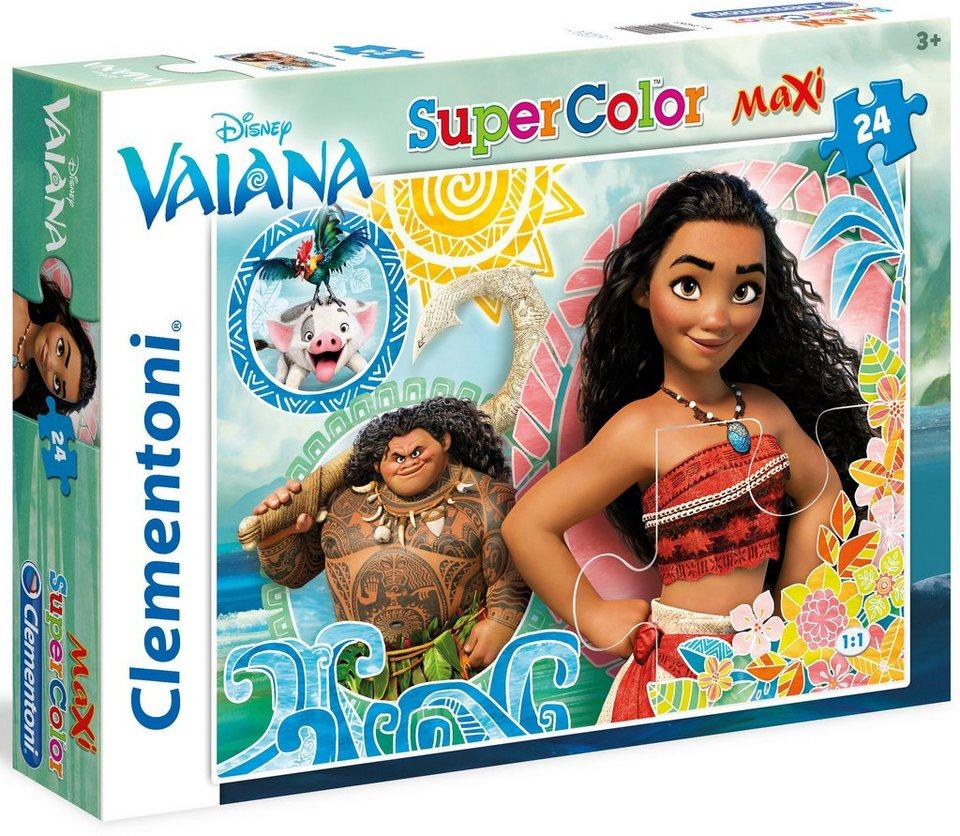 Clementoni Maxi Puzzle, 24 Teile, »Disney Vaiana«