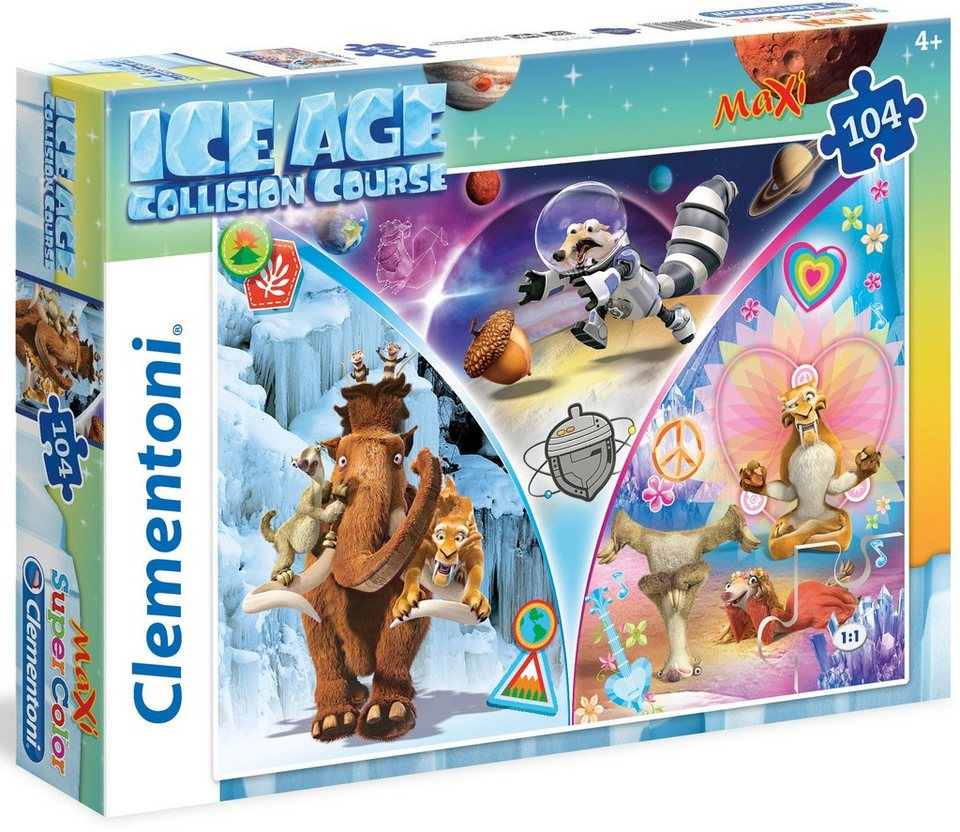 Clementoni Maxi Puzzle, 104 Teile, »Ice Age Collision Course«
