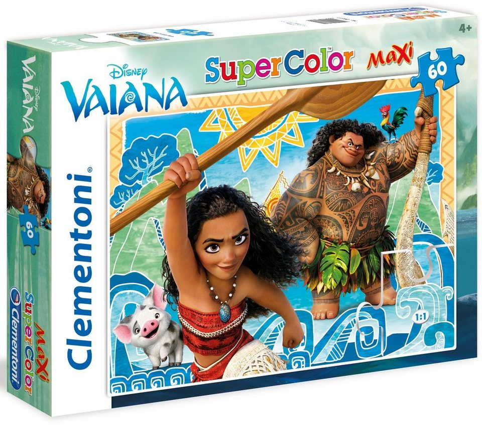 Clementoni Maxi Puzzle, 60 Teile, »Disney Vaiana«