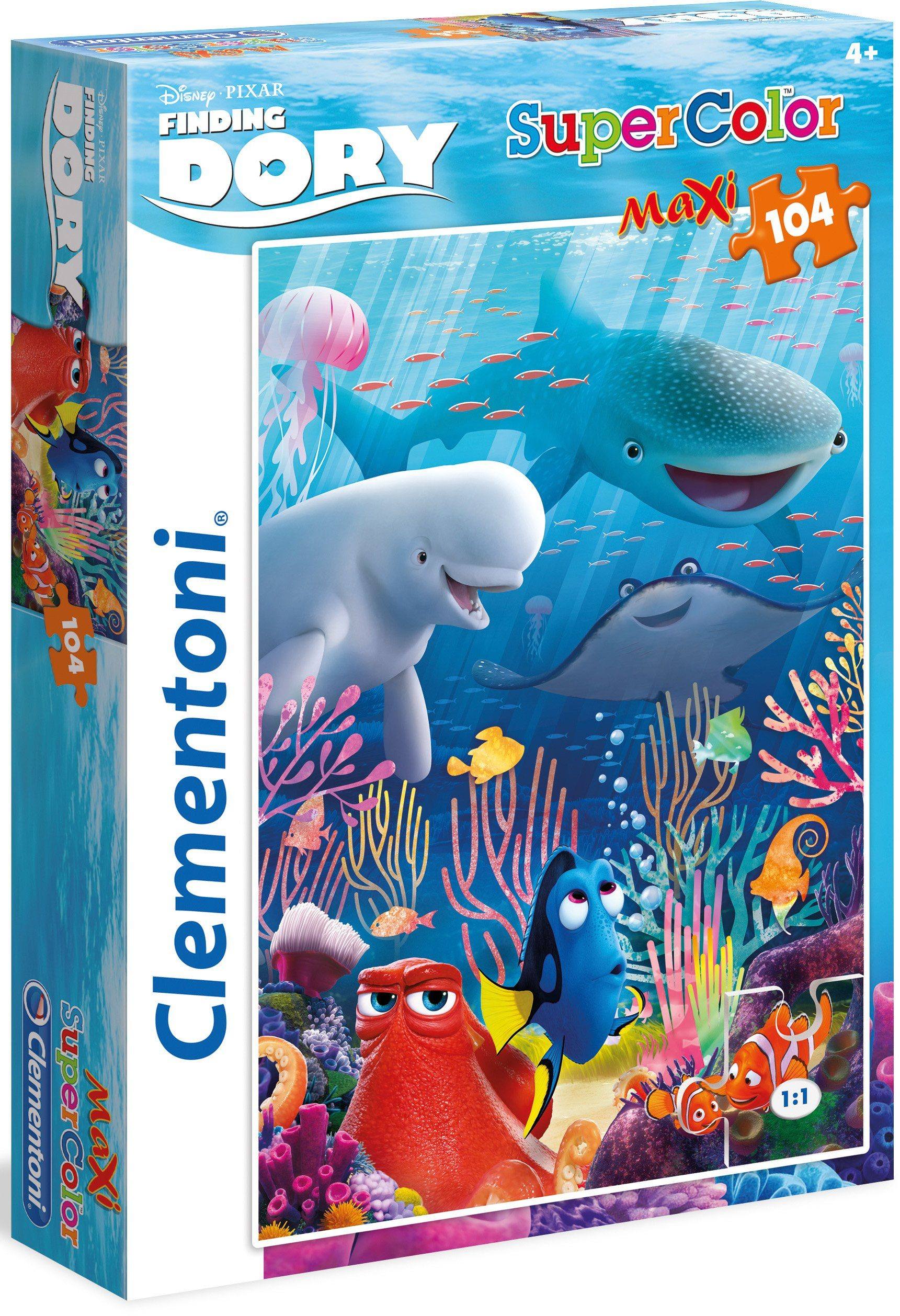 Clementoni Maxi Puzzle, 104 Teile, »Disney Finding Dory«