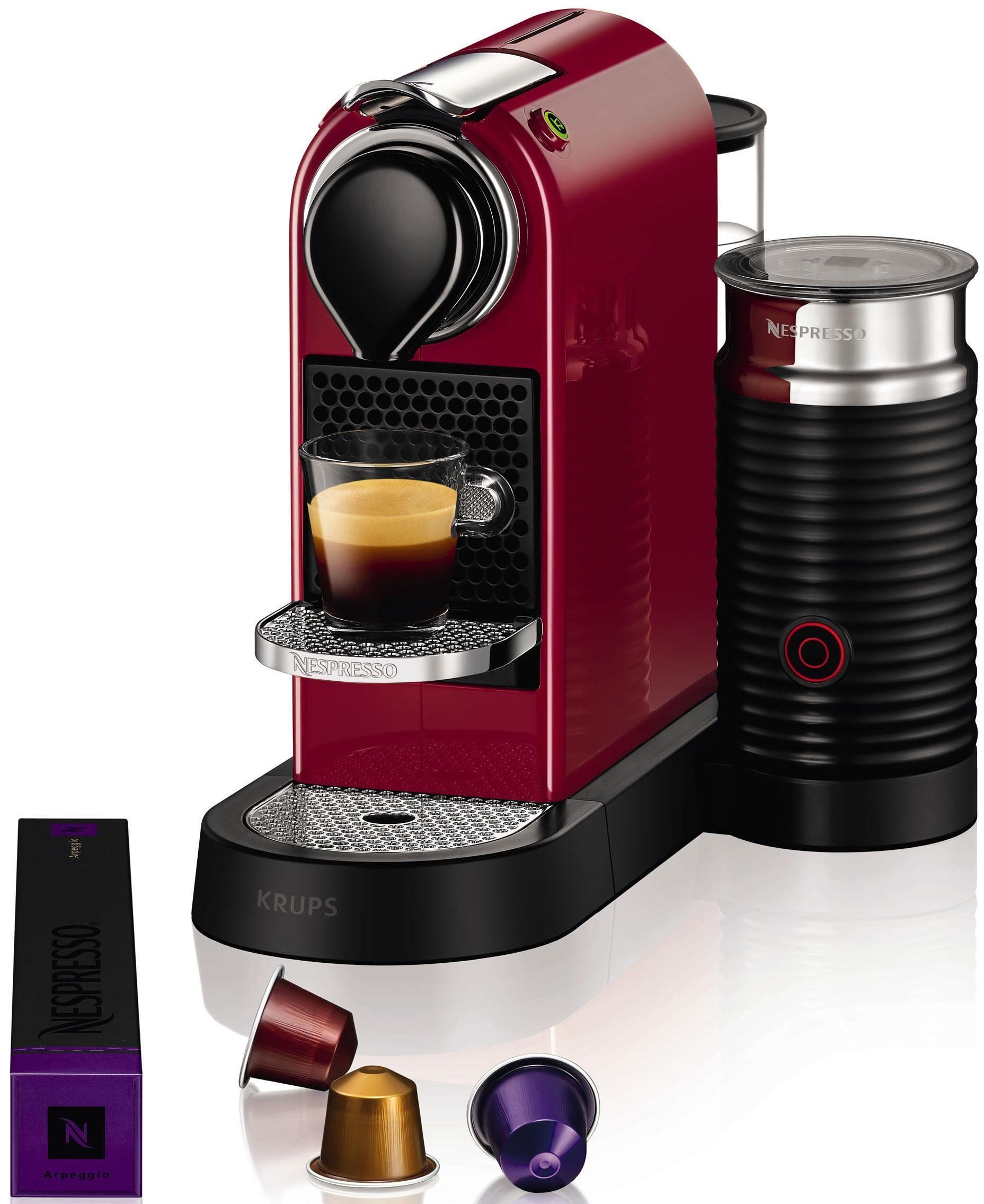 Nespresso Kapselmaschine NESPRESSO XN7605 CitiZ&milk, mit Aeroccino Milchaufschäumer