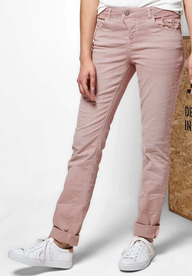 Street One Loose Fit Denim Mika in tender rose washed