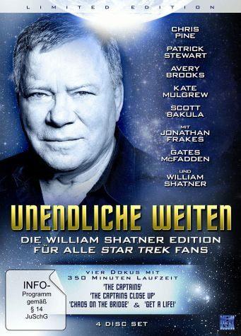 DVD »Unendliche Weiten - Die William Shatner...«