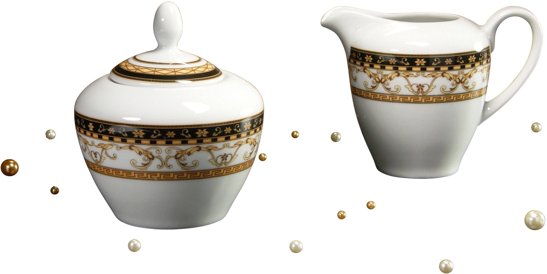 CreaTable Milch/Zucker-Set, Porzellan, »Majestosa«