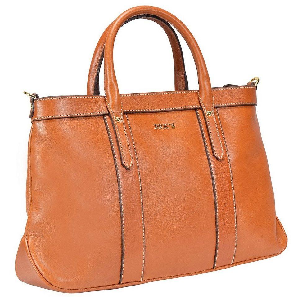 Bric's Life Pelle Shopper Tasche Leder 36 cm in leather