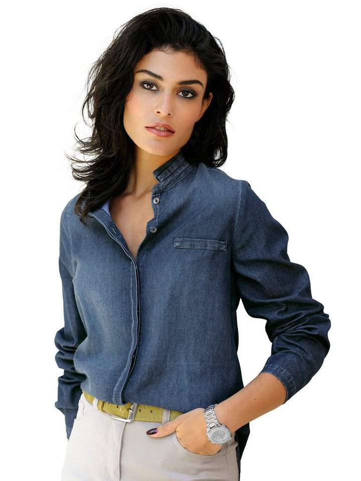 Alba Moda Bluse in blue