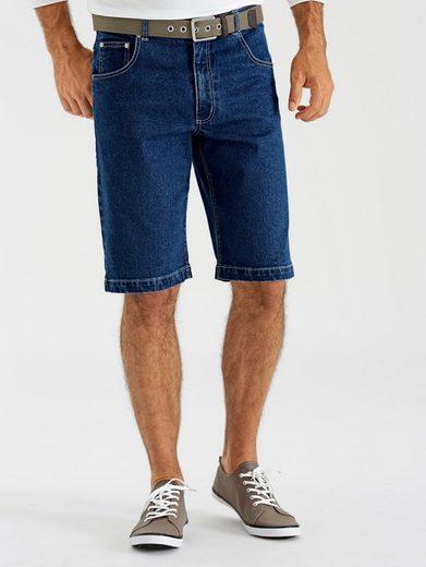 Babista Jeans-Bermuda mit verschließbaren Gesäßtaschen