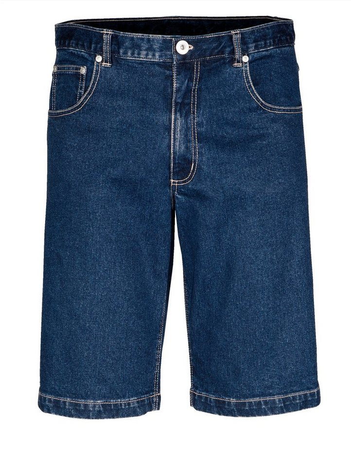 Babista Jeans-Bermuda mit verschließbaren Gesäßtaschen in blue stone