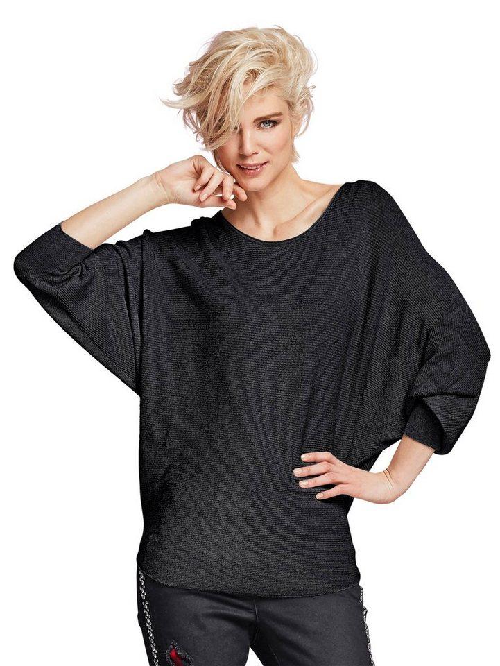 Alba Moda Pullover in schwarz