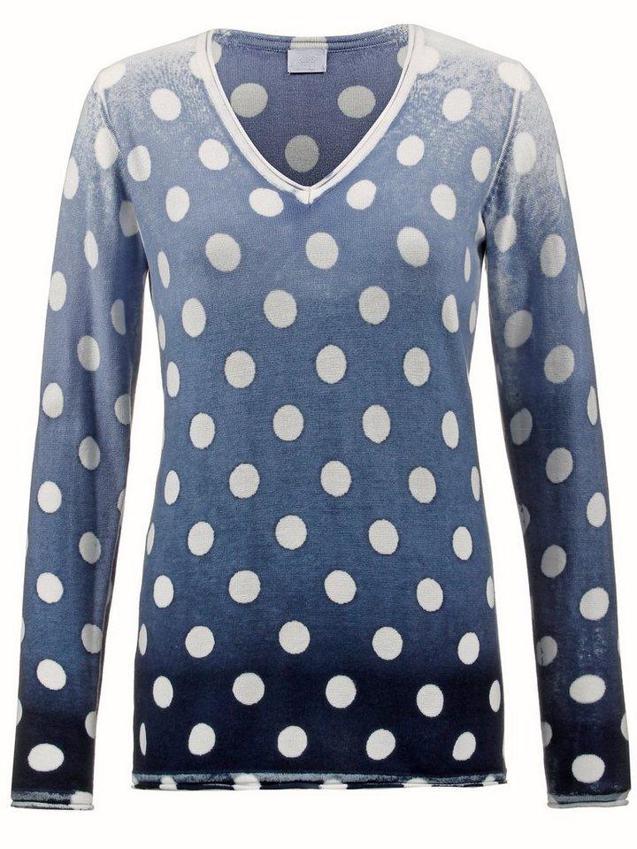 Alba Moda Pullover in bleu/navy