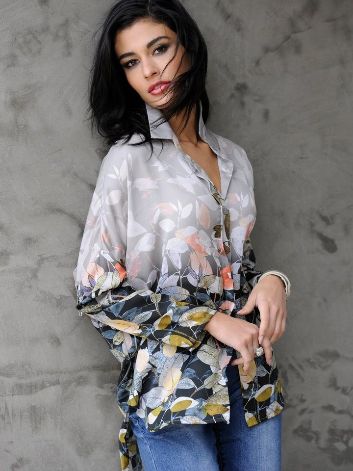 Alba Moda Hemdbluse in multi