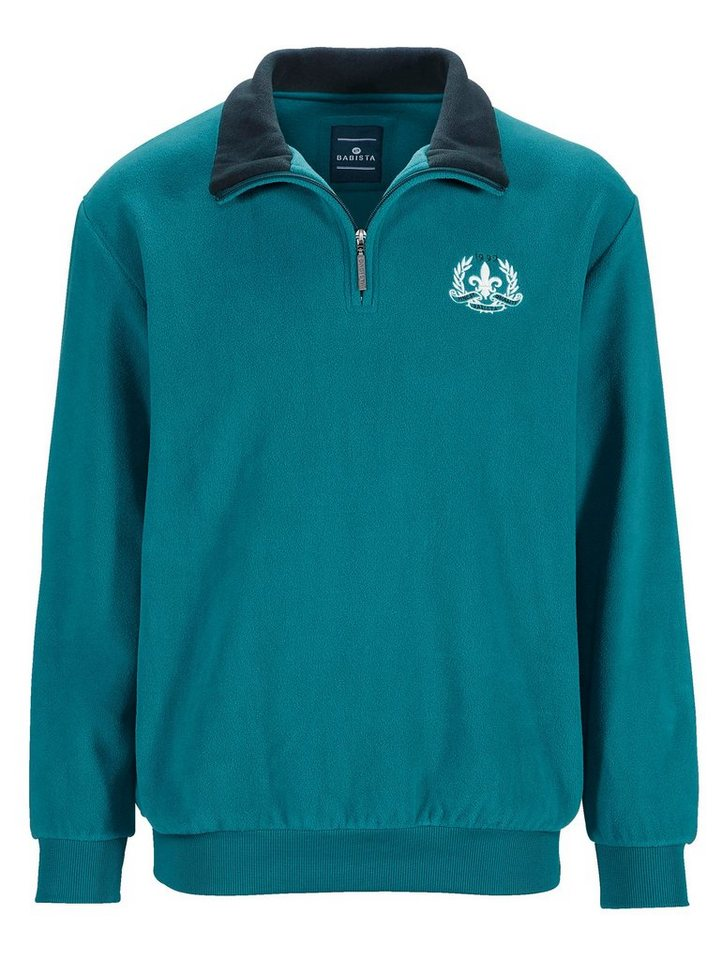 Babista Fleece-Sweatshirt aus Microfleece in petrol