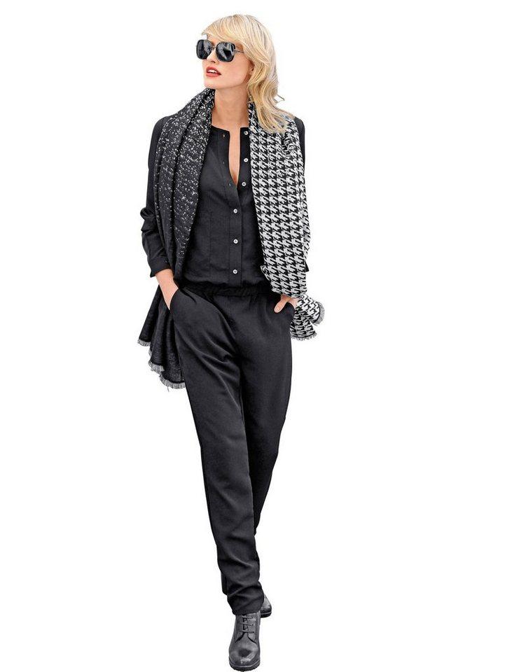 Alba Moda Overall in schwarz