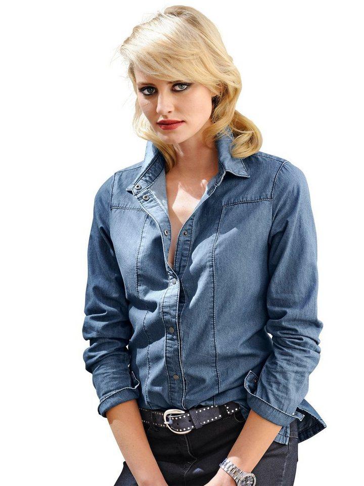 Alba Moda Bluse in denim