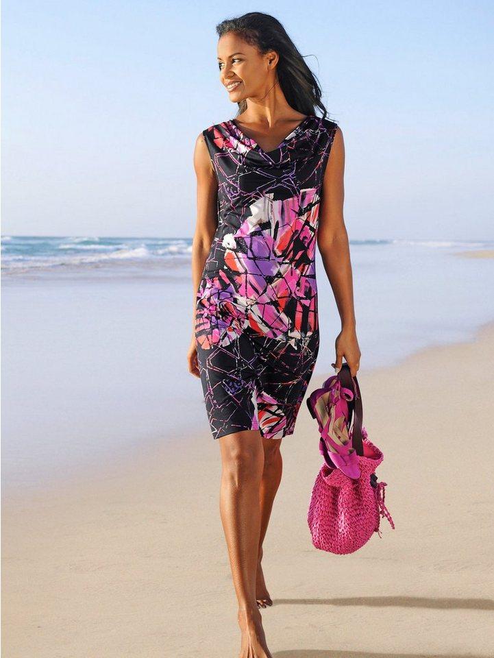 Alba Moda Kleid in pink/schwarz