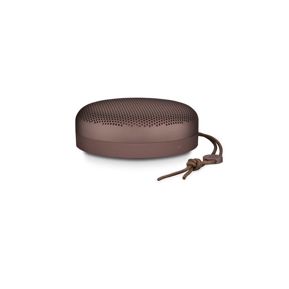 B&O-Play Ultra-mobiler Bluetooth Lautsprecher »Beoplay A1« in deep red